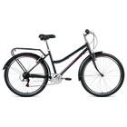 """Велосипед 26"""" Forward Barcelona Air 1.0, 2020, цвет серый, размер 17"""""""