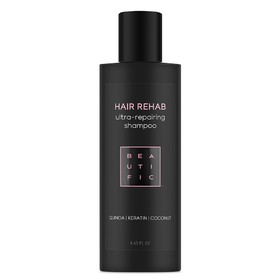 Шампунь Beautific Hair Rehab, супер-восстанавливающий, для поврежденных волос, 250 мл