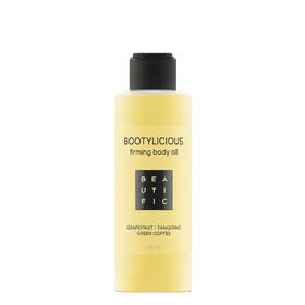 Антицеллюлитное масло для тела Beautific Bootylicious, для упругости тела, 150 мл