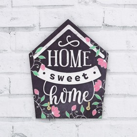 Ключница на подложке 'Home sweet home', 9 * 12 см Ош