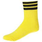 Носки спортивные для футбола, размер 38-44, цвет желтый