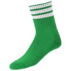 Носки спортивные для футбола, размер 38-44, цвет зеленый