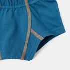 Трусы-боксеры для мальчика, цвет тёмно-бирюзовый, рост 128-134 см (34) - Фото 2