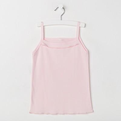 Майка для девочки, цвет розовый, рост 92 см - Фото 1