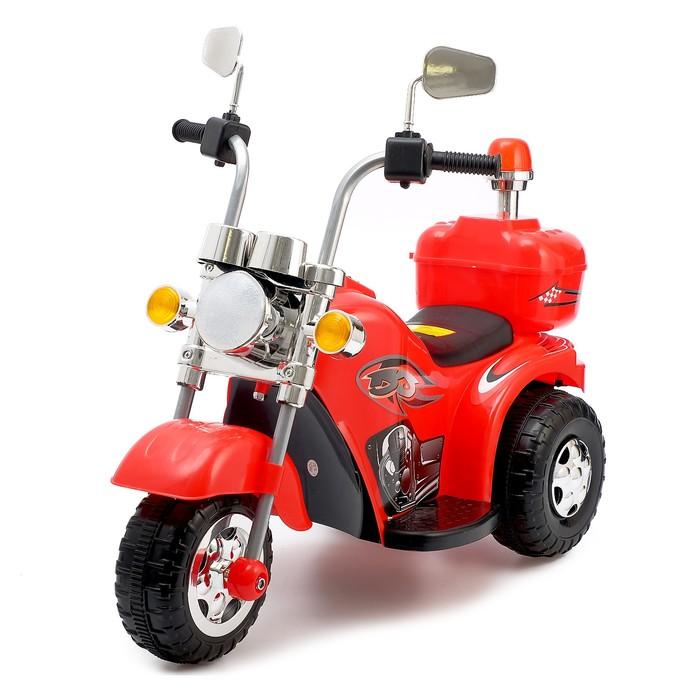 Электромобиль Чоппер, цвет красный