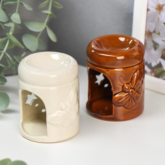 Аромалампа керамика Бабочка МИКС 7,5х5,5х5,5 см