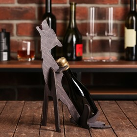 Подставка под бутылку 'Волк' Ош