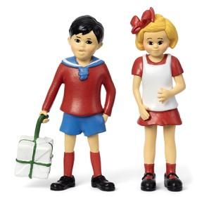 Набор кукол для домика Пеппи «Томми и Анника»
