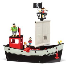Пиратский корабль Пеппи