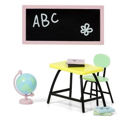 Набор мебели для кукольного домика «Школа» - Фото 1