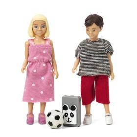Игровой набор кукол «Школьники»