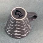 Кружка Доляна «Штрихи», 180 мл, 11×8,2×7,7 см, цвет коричневый - Фото 3