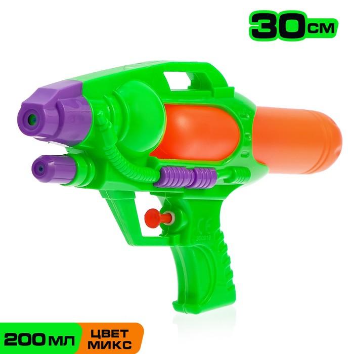 Водный пистолет Страйк, 30 см, цвета МИКС