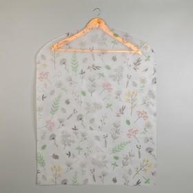 Чехол для одежды «Весна», 60×80 см, PEVA Ош