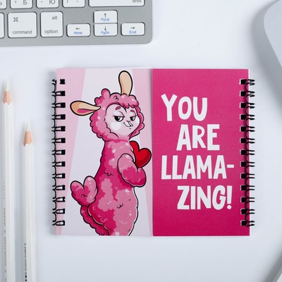 """Двойной блокнот """"You are Llama-Zing"""""""