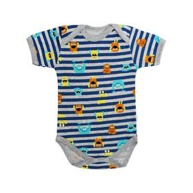Боди с коротким рукавом для малышей One, рост 68 см Ош