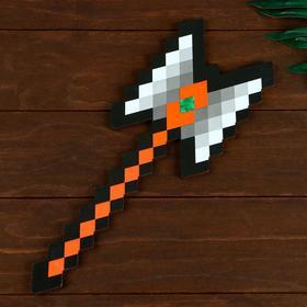 Сувенир деревянный топор гладиатора 'Пиксель', 37 см Ош
