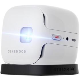 Проектор CINEMOOD МУЛЬТиКУБИК (CNMD0016SE), 16:9, FullHD, 16 Гб, BT, Wi-Fi, NFC, белый Ош