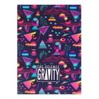 Тетрадь А5, 48 листов Gravity, мягкая обложка