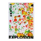 Тетрадь А5, 48 листов Colour explosion, УФ-лак