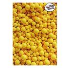 Тетрадь 48 листов клетка Hard school «Жёлтые шары», школьная, мягкая обложка