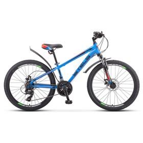 Велосипед 24' Stels Navigator-400 MD, F010, цвет синий/красный, размер 12' Ош