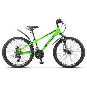 Велосипед 24' Stels Navigator-400 MD, F010, цвет зелёный, размер 12' Ош