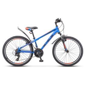 Велосипед 24' Stels Navigator-400 V' F010, цвет синий/красный, размер 12' Ош