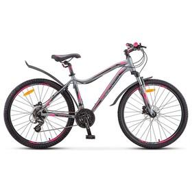 Велосипед 26' Stels Miss-6100 D, V010, цвет серый, размер 17' Ош