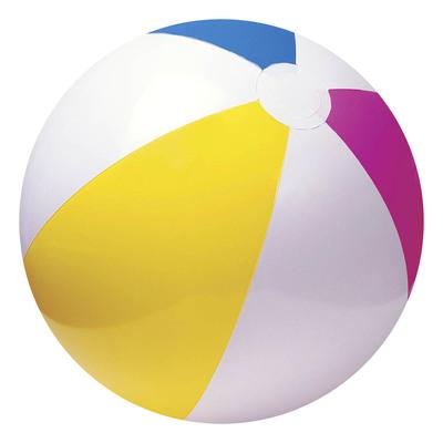 Мяч пляжный «Цветной», d=61 см, от 3 лет, 59030NP INTEX - Фото 1