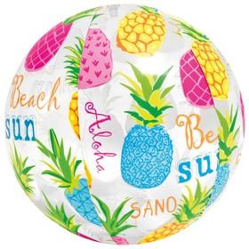 Мяч пляжный «Узоры», d=51 см, от 3 лет, цвета МИКС, 59040NP INTEX Ош