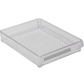 Контейнер для холодильника или шкафа, 20,5 х 28 х 5 см, акрил