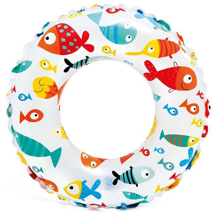 Круг для плавания Яркий, d61 см, от 6-10 лет, цвета МИКС, 59241NP INTEX
