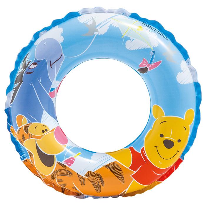 Круг для плавания Винни Пух, d51см, от 3-6 лет, 58228NP INTEX