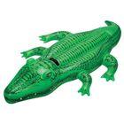 Игрушка для плавания «Крокодил», 168 х 86 см, от 3 лет, 58546NP INTEX - Фото 1