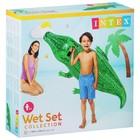 Игрушка для плавания «Крокодил», 168 х 86 см, от 3 лет, 58546NP INTEX - Фото 2
