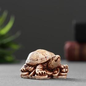 Фигура 'Черепаха на золоте' 2,7х5х3,5см Ош