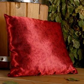 Подушка сувенирная, 22×22 см,  можжевельник, лаванда, чабрец, мята, шалфей Ош