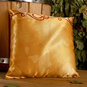 Подушка сувенирная, 22×22 см,  лаванда, можевельник, микс Ош
