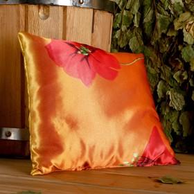 Фито-подушка сувенирная, 22×22 см,  можжевельник, морские водоросли Ош