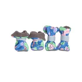 Ботиночки на флисе OSSO для собак, XS, микс цветов Ош
