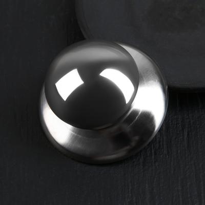 Ручка для крышки на посуду «Металлик», d=5,5 см - Фото 1