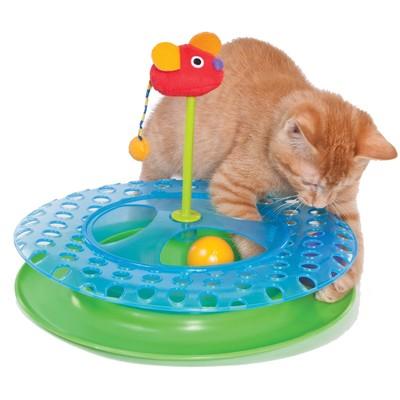 """Игрушка Petstages """"Трек 2 мячика II"""" для кошек"""