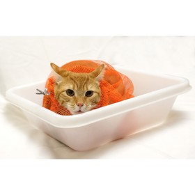 Сумка для купания и груминга кошек, размер M (для кошек средних размеров) Ош