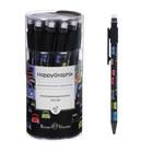 Карандаш механический 0,7 мм НappyGraphix «Цветные автомобили», НВ, пластиковый корпус, с ластиком