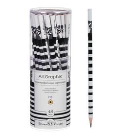 Карандаш чернографитный 3 мм ArtGraphix.Fun «Енот», НВ, пластиковый корпус