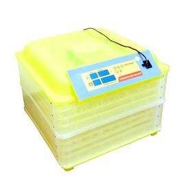 Инкубатор с терморегулятором, гигрометром и автопереворотом, на 112 яиц + овоскоп Ош