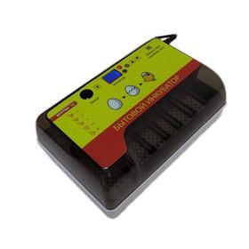 Инкубатор автоматический с универсальными лотками, вместимость до 12 яиц, встроенный овоскоп Ош