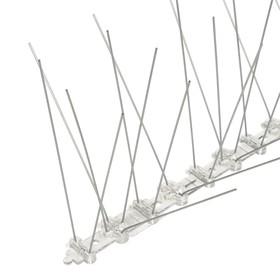 Отпугиватель птиц 'Шипы противоприсадные 'Барьер-Премиум 5'  50 см, 50 шипов, 5 рядов Ош