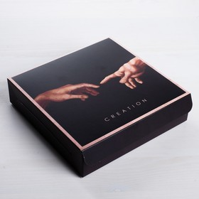 Коробка складная Creation, 14 × 14 × 3,5 см